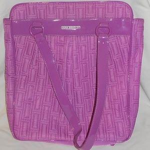 Vera Bradley laptop bag purple EUC